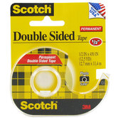 Permanent Double-Sided Tape - 1/2""